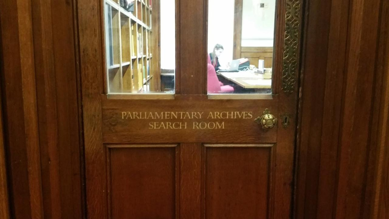 Tally Sticks, Parliamentary Scrolls, and Vellum: A Visit to the Parliamentary Archives
