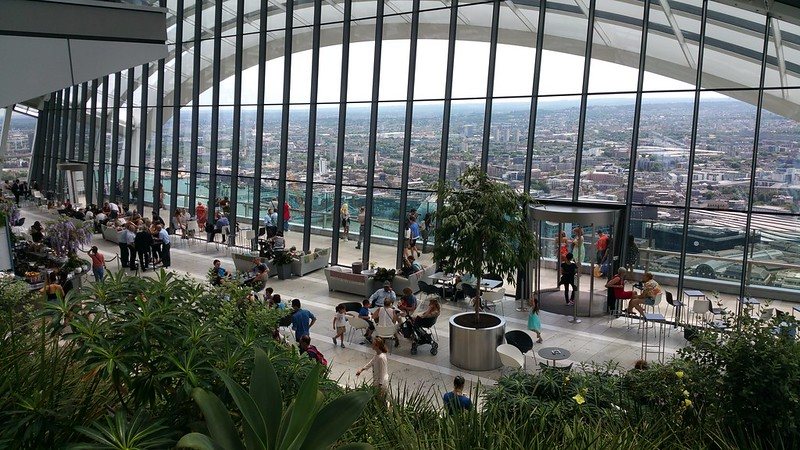 20 Fenchurch's Sky Garden: International Airport meets Garden City