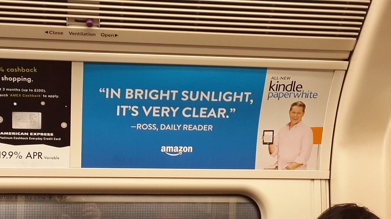 Everyone is reading the same book on Kindle Paperwhite