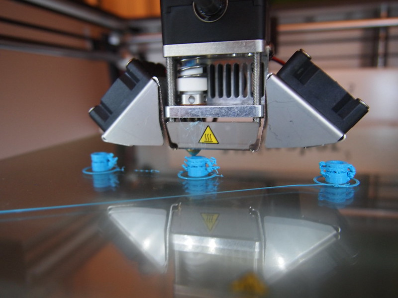 Ultimaker 2: Printing a New Material Feeder