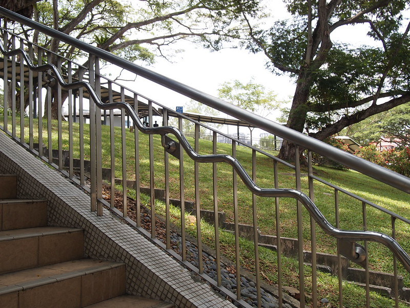 The Ridiculous Handrail and other oblique functions