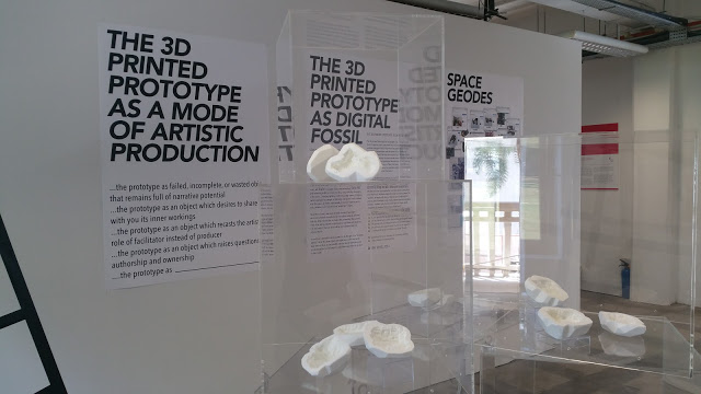 Space Geodes: Digital Archaeology and 3D prototyping, from Fossils to Plastic