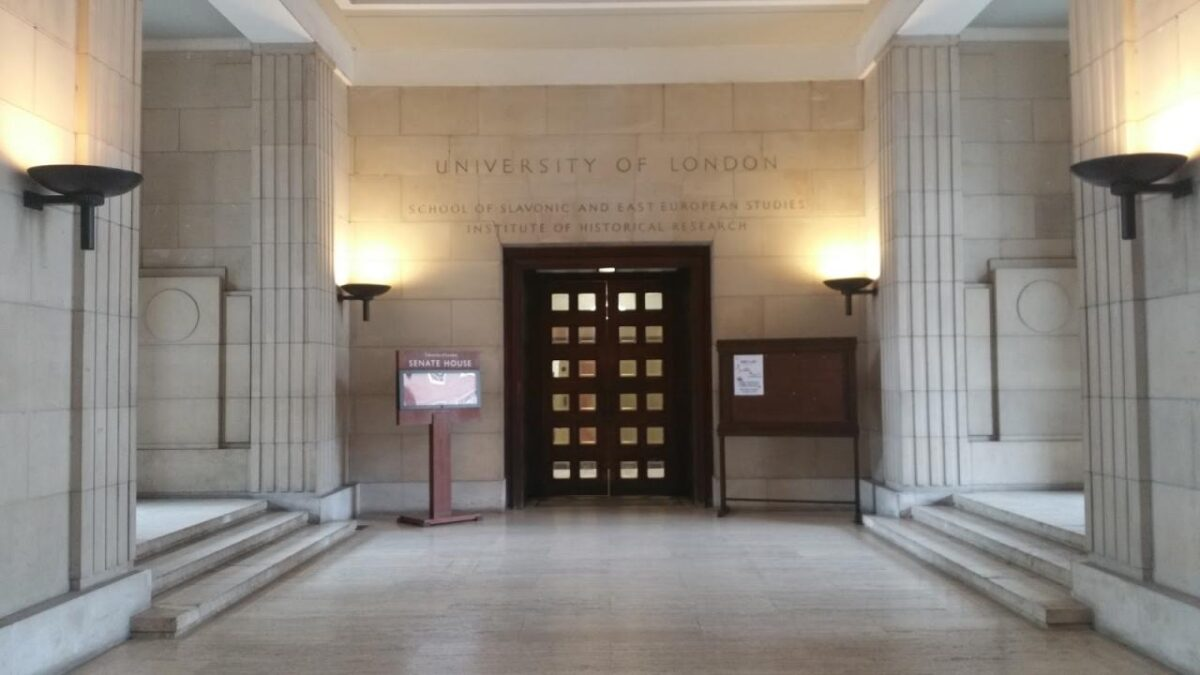 General Colonial History, Explorations and Voyages, and Richard Hakluyt: A Visit to the Institute of Historical Research Library