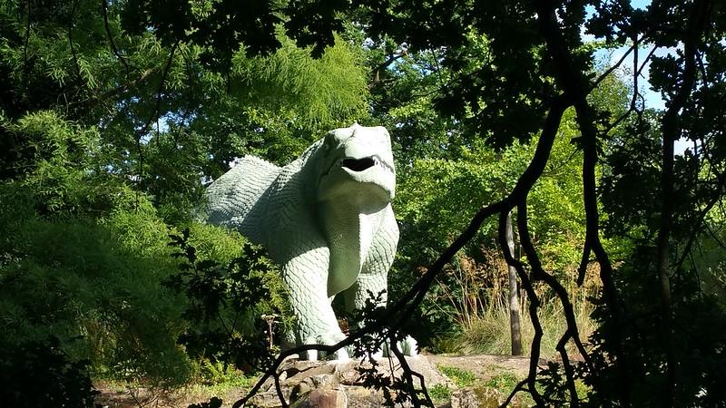 Misunderstandings in the Model Dinosaur Park: Overheard in Crystal Palace