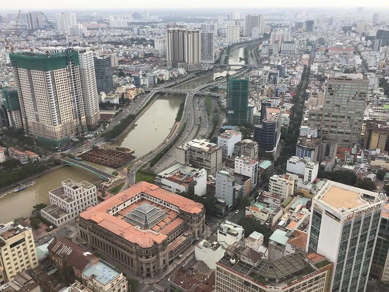 Saigon Skydeck: Closeup from Afar