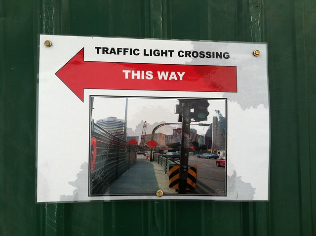 IN CASE YOU COULDN'T RECOGNISE WHAT IS A TRAFFIC CROSSING