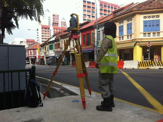Empty Chairs on Sungei Road