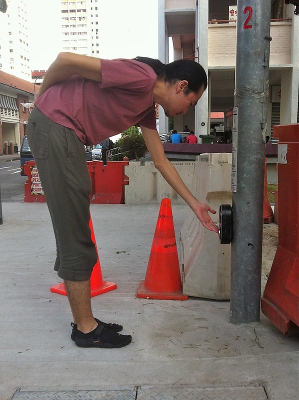 Jalan Besar Traffic Light Button
