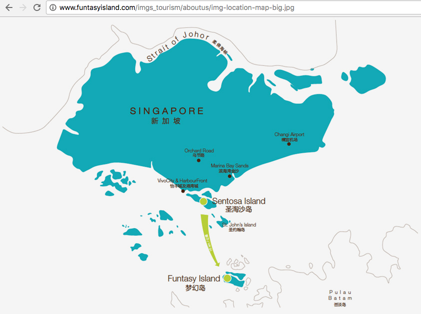 """Pulau """"Funtasy"""": The Maritime Dispute between Singapore and Indonesia that Wasn't"""