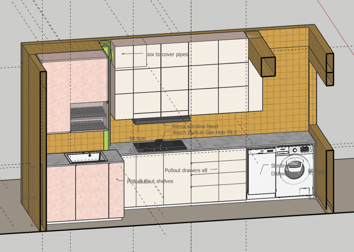 RENOVATION FOR THE D'OUTH HOUSE: Part 2 – Budgeting, Appointing Renovation Contractor, House Design Layout, Painting Scheme, Laminate and Tiling Selection